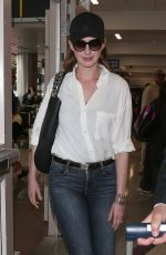 ANNE HATHAWAY at Los Angeles International Airport 05/15/2018