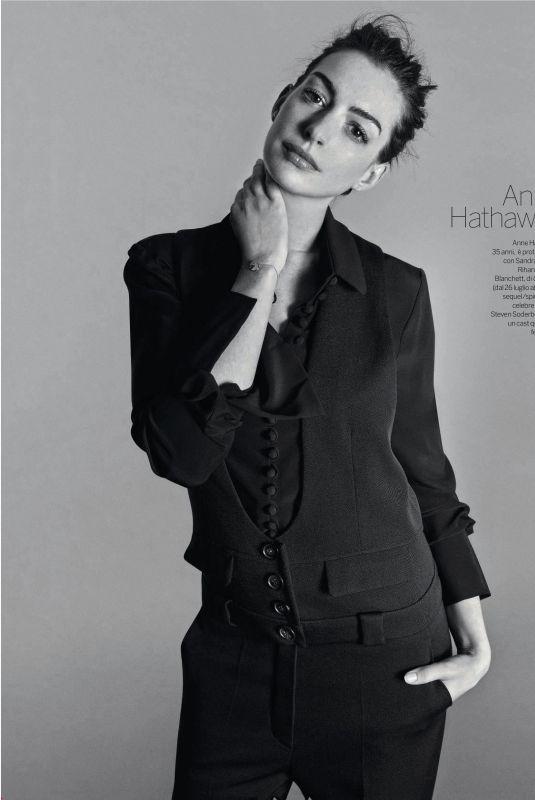 ANNE HATHAWAY in Gioia! Magazine, June 2018
