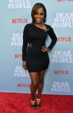 ANTOINETTE ROBINSON at Dear White People Premiere in Los Angeles 05/02/2018