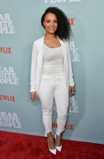 ANTONIQUE SMITH at Dear White People Premiere in Los Angeles 05/02/2018