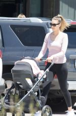 APRIL LOVE GEARY Out Shopping in Malibu 05/26/2018