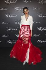 ARAYA HARGATE at Chopard Trophy Photocall at 2018 Cannes Film Festival 05/14/2018