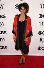 ARIANA DEBOSE at Tony Awards Nominees Photocall in New York 05/02/2018