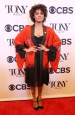 ARIANA DEBOSE at Tony Awards Nominees Photocall in New York 05/02/2018