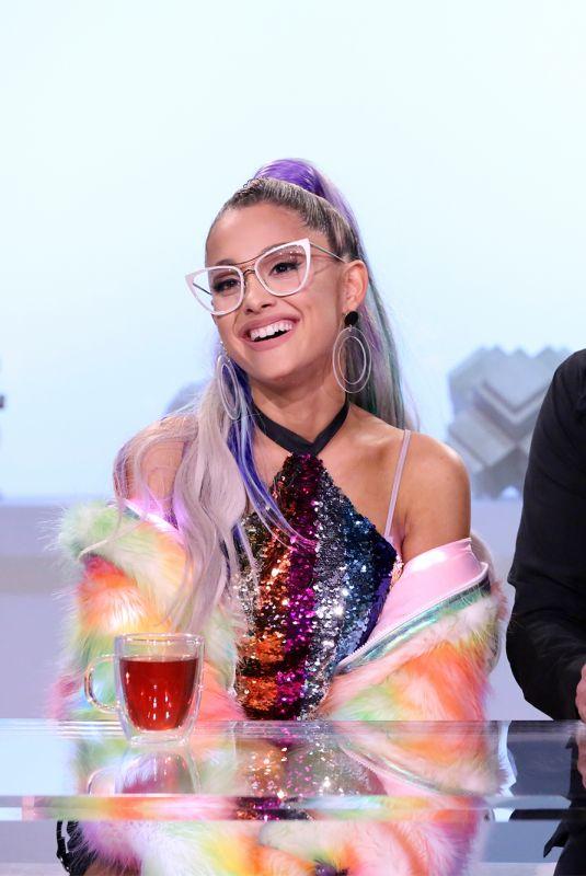 ARIANA GRANDE at Tonight Show Starring Jimmy Fallon 05/01/2018