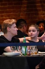 ARIEL WINTER and Levi Meaden Out for Dinner at Vitello