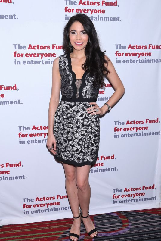 ARIELLE JACOBS at Actors Fund Annual Gala in New York 05/14/2018