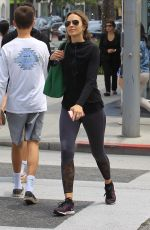 ARIELLE KEBBEL in Tights Out in Beverly Hills 05/29/2018