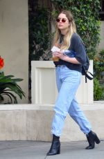 ASHLEY BENSON Out and About in Los Angeles 05/24/2018