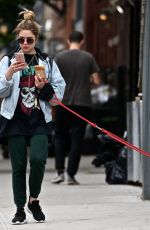 ASHLEY BENSON Out and About in New York 05/22/2018