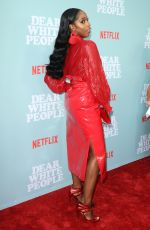 ASHLEY BLAINE at Dear White People Premiere in Los Angeles 05/02/2018