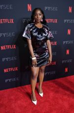 ASHLEY BLAINE FEATHERSON at Netflix FYSee Kick-off Event in Los Angeles 05/06/2018