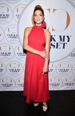 ASHLEY GREENE at Click My Closet Launch in New York 05/22/2018