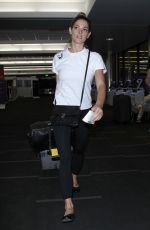 ASHLEY GREENE at LAX Airport in Los Angeles 05/09/2018