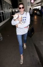 ASHLEY GREENE at Los Angeles International Airport 05/23/2018