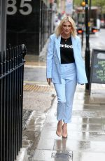 ASHLEY JAMES Out in London 04/30/2018