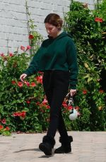 ASHLEY TISDALE Leaves a Spa in Los Angeles 05/13/2018