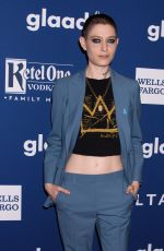 ASIA KATE DILLON at 2018 Glaad Media Awards in New York 05/05/2018