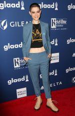ASIA KATE DILLON at 2018 Glaad Media Awards in New York 05/05/2018