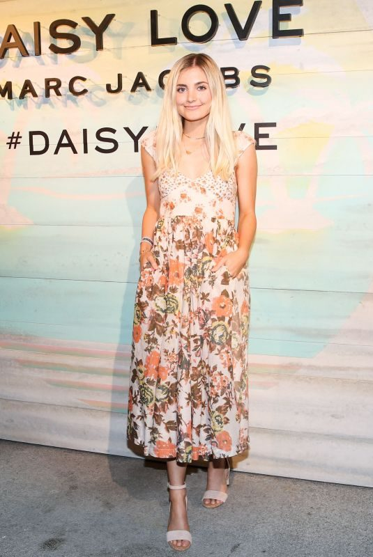 ASPYN OVARD at Daisy Love Fragrance Launch in Santa Monica 05/09/2018