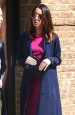 AUBREY PLAZA Leaves Greenwich Hotel in New York 05/10/2018