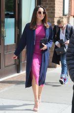 AUBREY PLAZA Leaves Greenwich Hotel in New York 05/10/2018