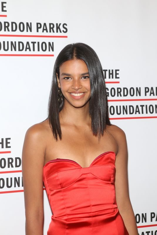 AUSTRIA ULLOA at Gordon Parks Foundation Annual Awards Dinner in New York 05/22/2018
