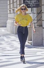 AVA PHILLIPPE Out in New York 05/03/2018