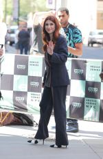 AYA CASH Arrives at Build Studios in New York 05/23/2018