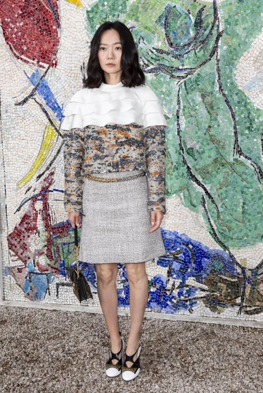 BAE DOONA at Louis Vuitton 2019 Cruise Collection in Saint Paul De Vence 05/28/2018