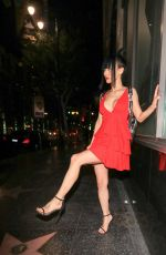 BAI LING Leaves Katsuya Restaurant in Hollywood 05/04/2018