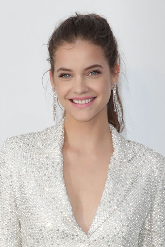 BARBARA PALVIN at Amfar's 25th Cinema Against Aids Gala at Cannes Film Festival 05/17/2018