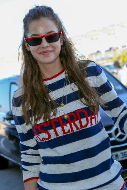 BARBARA PALVIN at Nice Airport 05/18/2018