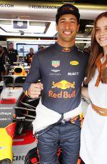 BARBARA PALVIN at Spanish Grand Prix 05/13/2018