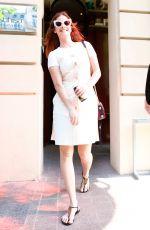 BARBARA PALVIN Leaves Her Hotel in Paris 05/03/2018
