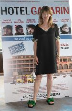 BARBORA BOBULOVA at Hotel Gagarin Photocall in Rome 05/22/2018