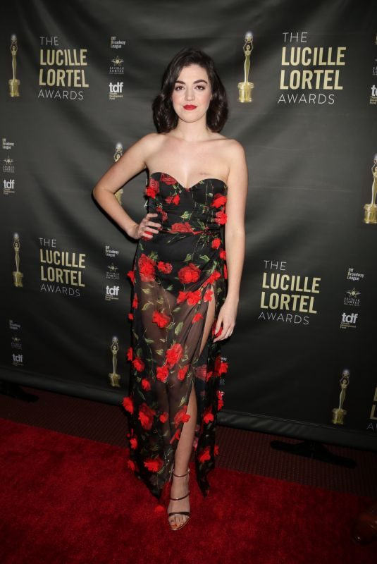 BARRETT WILBERT WEED at 2018 Lucille Lortel Awards in New York 05/06/2018