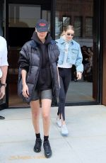BELLA and GIGI HADID Out and About in New York 05/01/2018