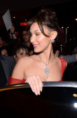 BELLA HADID Arrives at Dior Dinner in Cannes 05/12/2018