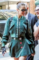 BELLA HADID Arrives to Carlyle Hotel in New York 05/07/2018
