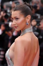 BELLA HADID at Blackkklansman Premiere at Cannes Film Festival 05/14/2018