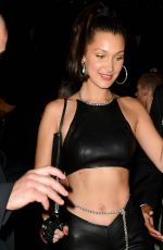 BELLA HADID at MET Gala After-party in New York 05/07/2018