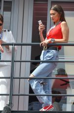 BELLA HADID at Monaco Formula 1 Grand Prix in Monte-carlo 05/27/2018