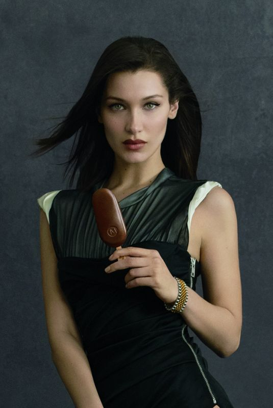 BELLA HADID for Magnum Ice Cream, May 2018