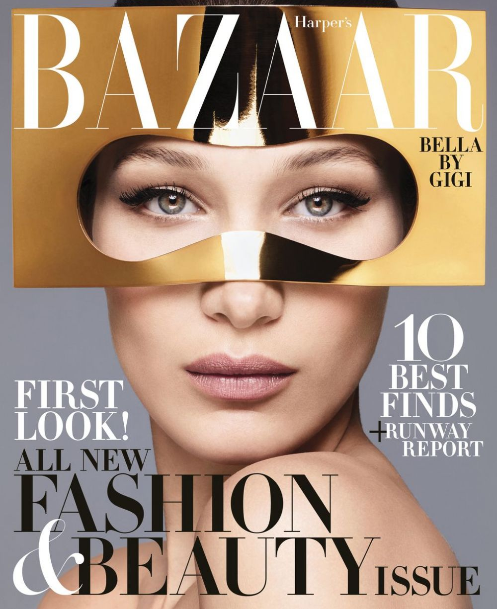 Image result for bella hadid harpers bazaar 2018