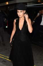 BELLA HADID Leaves Dior Backstage Launch Party in London 05/29/2018