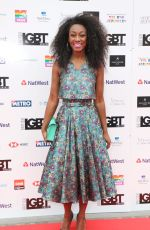 BEVERLY KNIGHT at LGBT Awards 2018 in London 05/11/2018