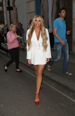 BIANCA GASCOIGNE Arrives at Davinci London Collection Launch Party 05/24/2018