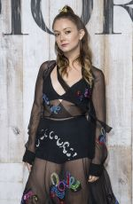 BILLIE LOURD at Christian Dior Couture Cruise Collection Photocall in Paris 05/25/2018