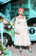BRIA VINAITE at Tiffany & Co. Jewelry Collection Launch in New York 05/03/2018